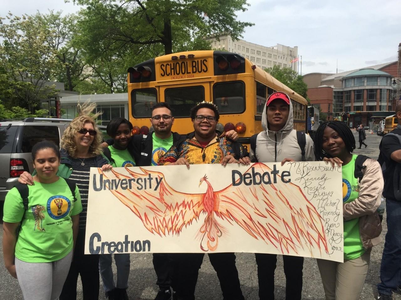 Newark Debate Academy Makes Newark Proud!